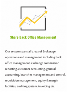 Share Back Office Management