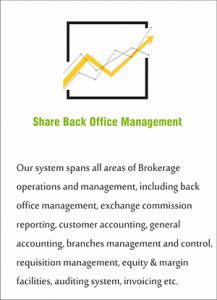 Share Back Office Management