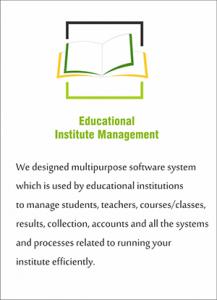 Educational Institute Management