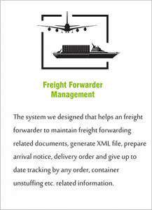 Freight Forwarder Management